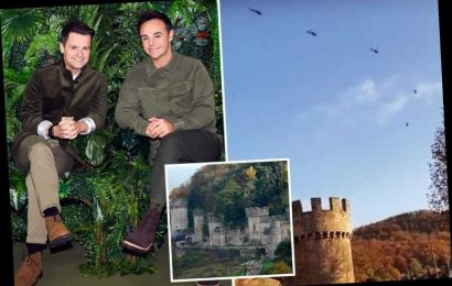 I'm A Celebrity 2020: Six helicopters spotted soaring over Welsh castle as locals predict stars are on their way