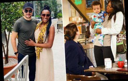 Coronation Street's Victoria Ekanoye says she got pregnant in lockdown because 'there was nothing else to do'