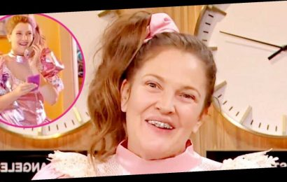 Holy Throwback! Drew Barrymore Revisits Never Been Kissed's Josie Grossie