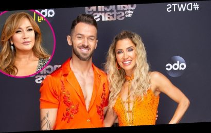 Kaitlyn and Artem Question Carrie Ann's Intentions After 'DWTS' Critiques