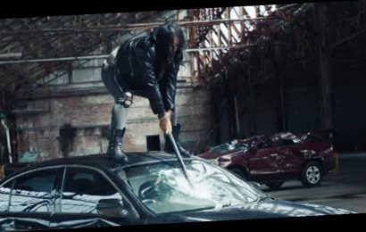 AEW's Nyla Rose Takes Sledgehammer to Jaguar In Wild New Trailer By Director X!