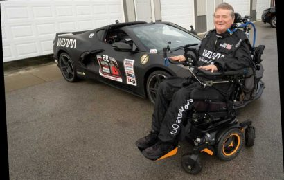 How Race Car Driver Paralyzed in Crash Found 'Inspiration' in His Dad Who Was Similarly Paralyzed