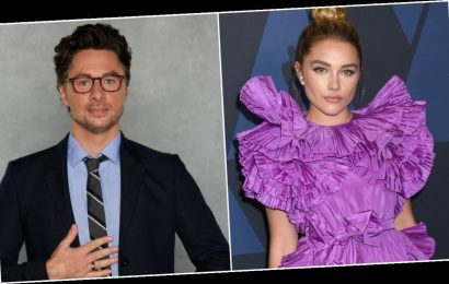 Zach Braff Just Praised Florence Pugh for Standing Up to IG Bullies That Criticize Their Relationship