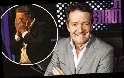 PIERS MORGAN: Part of my brain screamed 'Come on, you big wuss'