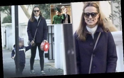 Pippa Middleton is seen for first time since pregnancy reports
