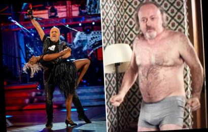 Strictly's Bill Bailey dances half-naked in 2011 film Chalet Girl – but tried to have scene 'banned' after its release