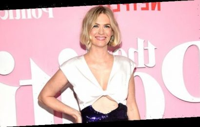 January Jones Jokingly Shares 'Desperate' Bikini Pic To Clap Back At Haters: 'Had To Do It'