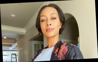Keri Hilson Gets Playful With Fake Baby Bump