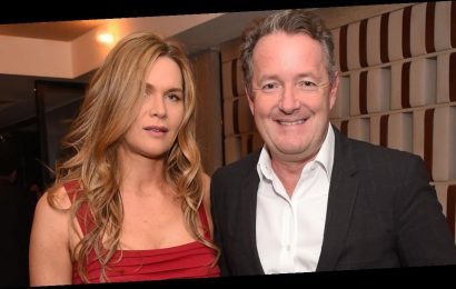 Piers Morgan admits he's trying to 'lose the lockdown lard' by eating sushi thanks to wife Celia Walden