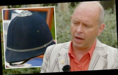 Antiques Roadshow expert uncovers value of helmet worn by Beatles icon 'His DNA's on it'