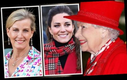 Sophie Wessex and Kate Middleton 'saved Queen from royal rift and Megxit turmoil' – expert
