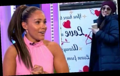 Alex Scott asks if it's too early for Valentine's Day as she finds 'love at first sight'