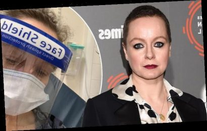 The Walking Dead's Samantha Morton is rushed to hospital