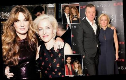 ALISON BOSHOFF Can Gillian Anderson forgive Jemima for dating her ex?
