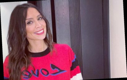 When is Christine Lampard's baby due?