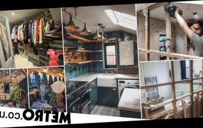 Couple spend £50k on complete home makeover turning drab house into modern dream