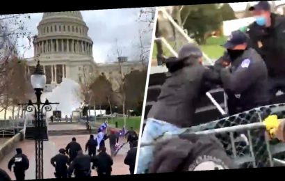Video Shows Exact Moment Capitol Siege Began As Two Men Attacked Police and Broke First Barrier