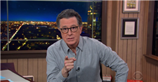 Stephen Colbert Is Thrilled to Have a President With a Plan