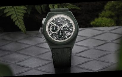 Zenith Dresses the Fastest Chronograph in the World in Khaki Green