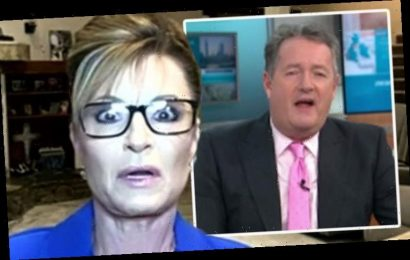 GMB's Piers Morgan staggered as Sarah Palin claims 'dead people voted' in US election