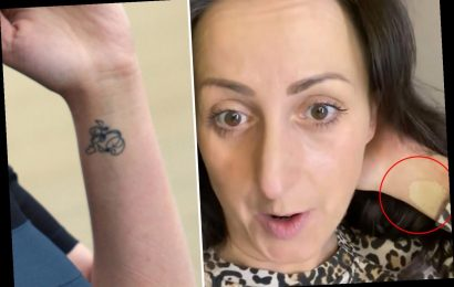 EastEnders' Natalie Cassidy shows off 'secret tattoo' she has to cover up to play Sonia on the soap