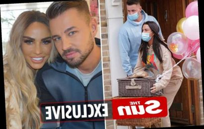 Katie Price's boyfriend Carl Woods splashes out £10,000 on HUGE gift for her on their first Valentine's Day together