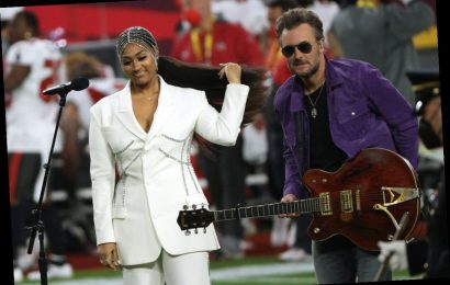 Eric Church Became a 'Fan' of Jazmine Sullivan After Not Knowing Who She Was Before the Super Bowl- 'She May Be the Best Singer'