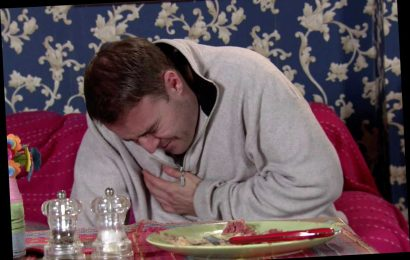 Coronation Street spoilers: Tyrone collapses in agony and is forced into a health kick – but Fiz refuses to support him