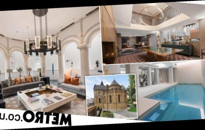 Gorgeous former church with its own swimming pool goes on sale for £19.5million