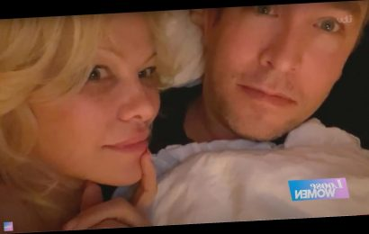 Pamela Anderson and New Husband Dan Hayhurst Talk About Their Love While Cuddled Together in Bed