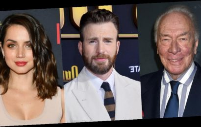 Christopher Plummer Honored by 'Knives Out' Stars Chris Evans, Ana de Armas, & More