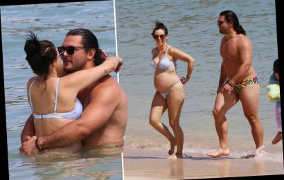 Pregnant Scheana Shay and Brock Davies pack on the PDA in Hawaii