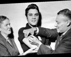 Elvis Presley received life-saving vaccine live on TV while pleading with fans