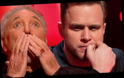 Tom Jones opens on up on 'fighting' with The Voice UK's Olly Murs
