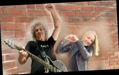 Brian May and Kerry Ellis on challenges of recording their uplifting new song in lockdown