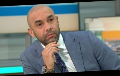 Good Morning Britain's Alex Beresford returns to show after Piers Morgan row