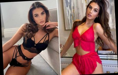 Karren Brady's daughter Sophia Peschisolido looks incredible in red lingerie