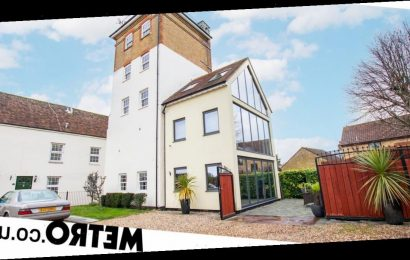 Brewery grain store transformed into a stunning home up for sale for £725,000