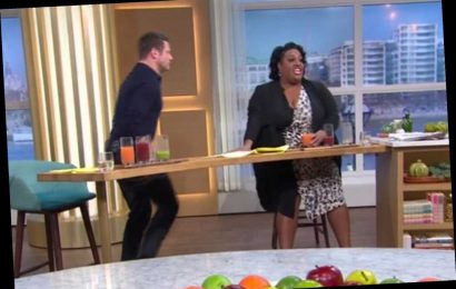 Dermot O'Leary shocks Alison Hammond by walking off This Morning before the end of the show
