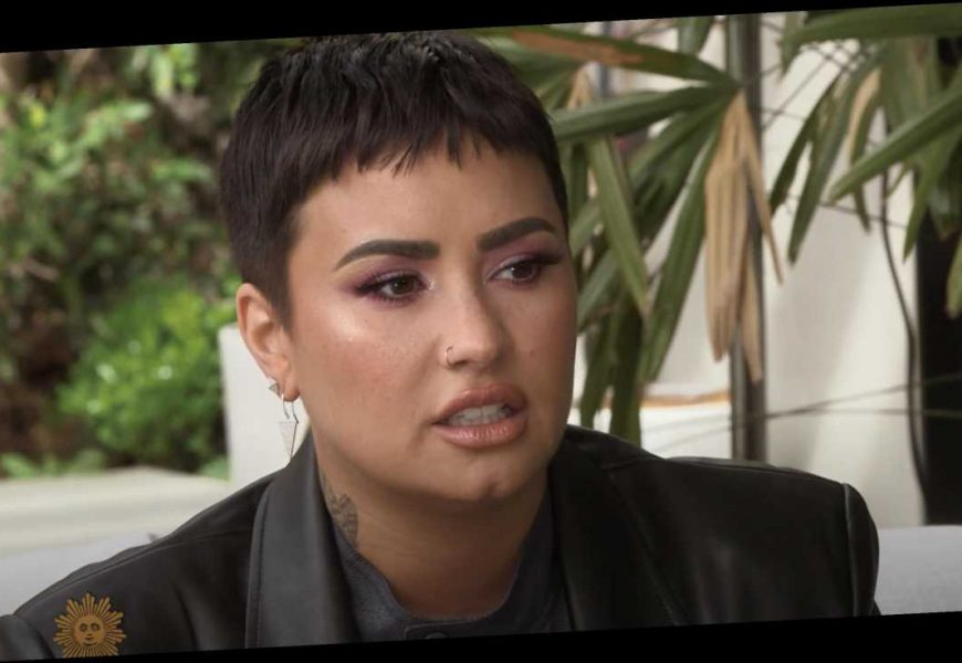 See Demi Lovato Talk Overdose, Recovery on 'CBS Sunday Morning'