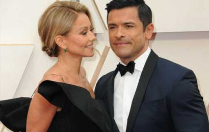 Kelly Ripa Shares a Sweet Family Throwback Pic Ahead of Mark Consuelos' 50th Birthday