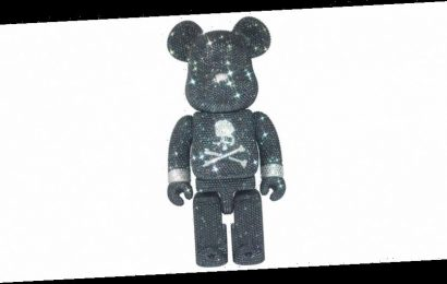 mastermind JAPAN and Medicom Toy's Blinged-Out BE@RBRICK 400% Costs Over $10K USD