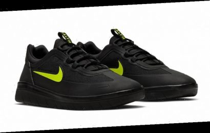 """Nike SB Nyjah Free 2 Releases With a """"Black/Cyber"""" Makeover"""