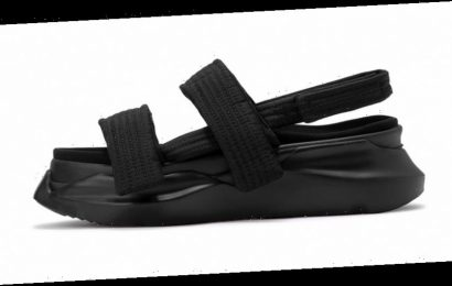 "Rick Owens DRKSHDW's New Summer-Ready Abstract Sandals Land In ""Triple Black"""