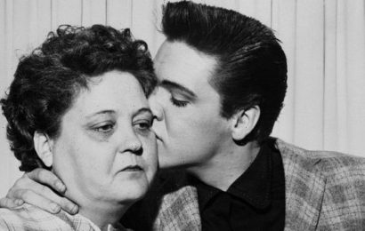 Elvis: The King's heartbroken first orders when he heard mother Gladys had died