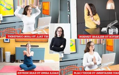 How subtle desk YOGA can help you boss your job