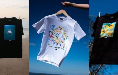 Olafur Eliasson's Little Sun and TOMORROW Partner for Organic, Upcycled Artistic Apparel