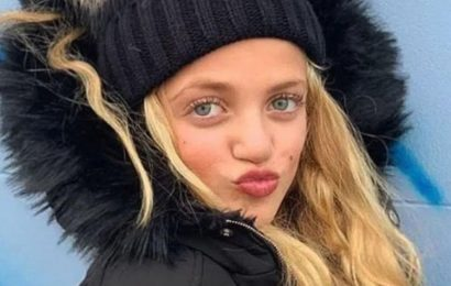 Peter Andre's daughter Princess shares rare glimpse of bond with step-mum Emily