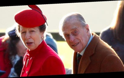Princess Anne pays emotional tribute to Prince Philip as she says 'life will be completely different'