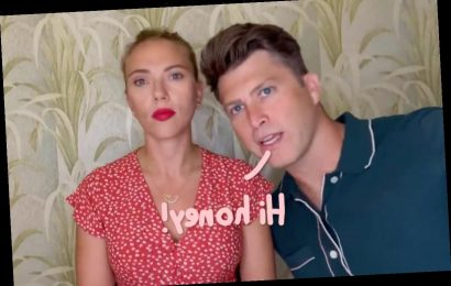 SNL's Colin Jost Hilariously Crashes Scarlett Johansson's Appearance On RuPaul's Drag Race!